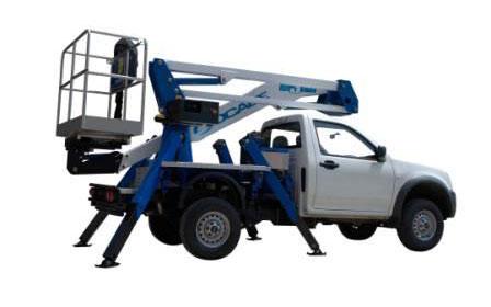 Noleggio piattaforme aerre montate su Pickup Patente B