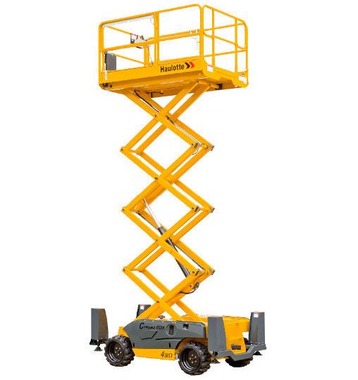 Noleggio piattaforme aeree verticali semoventi fino a 10 metri