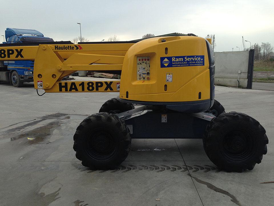 Vendita piattaforma aerea usata Mod. Haulotte-HA18PX-1