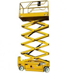 Noleggio piattaforme aeree verticali fino a 6 metri