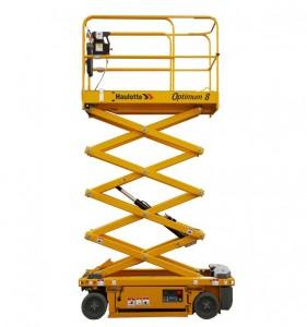 Noleggio piattaforme aeree verticali fino a 8 metri