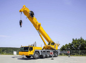 Noleggio autogru con portata fino a 180 ton. - 62 metri di altezza max