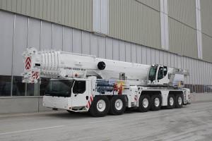 Noleggio autogru multistrada con portata fino a 300 ton. - 78 metri di altezza max