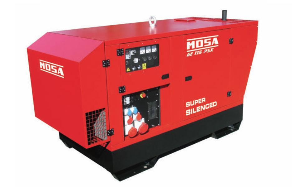 Motosaldatrice Mosa GE 115 offerta a noleggio da RAM Service