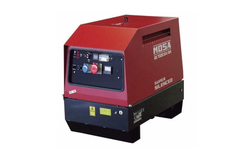 Motosaldatrice Mosa GE 7000 offerta a noleggio da RAM Service