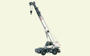 Noleggio autogru fuoristrada con portata fino a 30 ton. e 30,2 metri di altezza