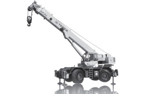 Noleggio autogru fuoristrada con portata fino a 60 ton. e 32,4 metri di altezza