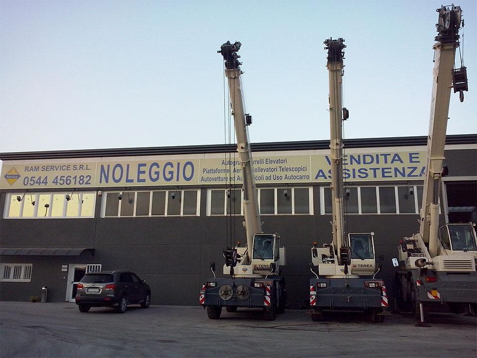 Foto stabilimento RAM service di Ravenna