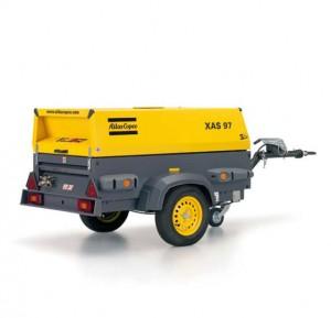 Noleggio motocompressori con portata da 32 a 89 l/s
